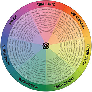 The Drugs Wheel: a new model for substance awareness: www.thedrugswheel.com/?page=downloads