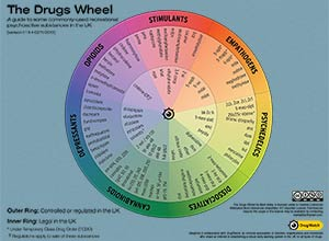 The Drugs Wheel: a new model for substance awareness